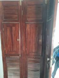 Porta de madeira Massaranduba
