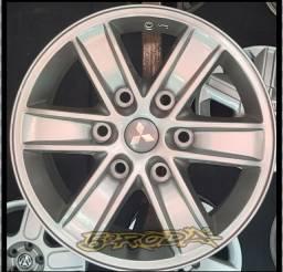 Jogo de Roda Aro 16 Original Mitsubishi L200 Triton