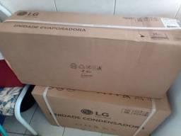 Vendo ar condicionado LG Dual Inveter Quente Frio voice
