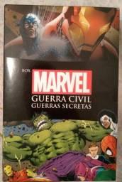 Box - Marvel: Guerra Civil e Guerras Secretas (Edição Slim) + Pôster