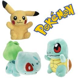 Kit 3 Pokemons