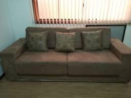 Sofá de 3 e 2 lugares suedi