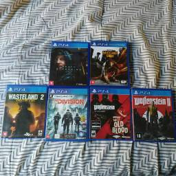 Troco jogos PS4