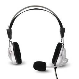Fone com microfone jhonystar gamer headphone (house eletronics)