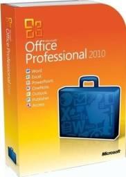 Office 2010 vitalicia completo midia licença