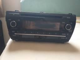 Rádio original Corolla gli 2017