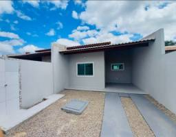 WS casa nova com 2 quartos 2 banheiros a 10 minutos de messejana pedras/ancuri