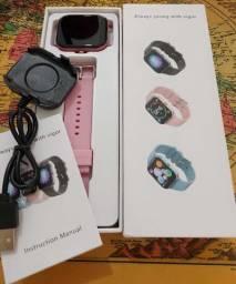 Smartwatch P8 PRO - Tela 1.78¨ Full - Rosa