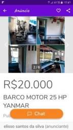 BARCO MOTOR 25HP YANMAR