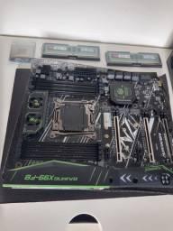 Kit xeon gamer x99 F8 16gb RAM DDR4 e processador E5 2620 v3