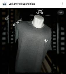 Camiseta Original logo refletiva