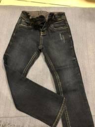 Roupas infantil calça CK original compradas na loja