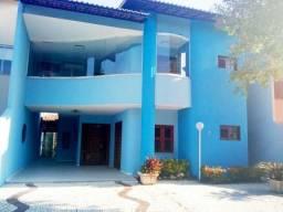 CA1446 Condomínio Novo Milênio, casa duplex, 4 suítes, gabinete, 4 vagas, lago Jacarey
