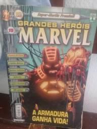 Hq - Grandes Heróis Marvel nº 15 - Super-Heróis Premium
