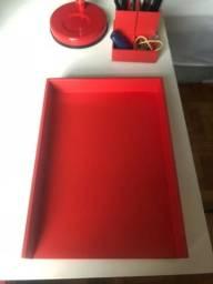 Organizador de mesa Tabapuã Vermelho