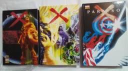 Trilogia X Marvel - Terra X, Universo X,Paraíso X !