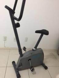Bicicleta Ergométrica Act! CLB 11 Classic Cinza e Preto