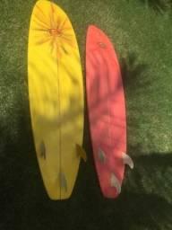 FunBoard 7´ 2´ prancha de surf muito nova