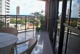 Apartamento 4 suítes no bairro de Ponta Negra, Residencial Solar Mares - 280²