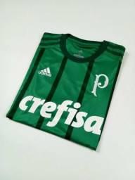 Camisa Adidas Palmeiras 2017/18 I - Versão Torcedor