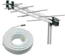 Instalação antena câmeras alarme reparos geral sua casa