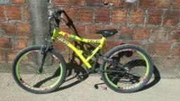 Vendo bicicleta Caloi sk alumínio