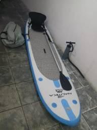 Prancha de Stand Up Paddle Inflável Nautika SPK-2 e Caiaque Inflável Sevylor Quikpak K5