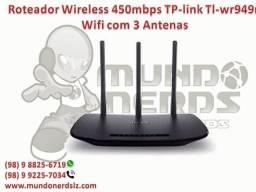 Roteador Wireless 450mbps TP-link Tl-wr949n Wifi com 3 Antenas em Sao Luís MA
