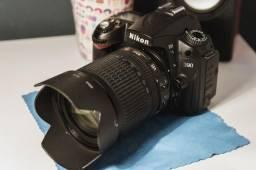 Nikon D90 Impecável!!! Apenas 12 mil clicks + 18-105mm Muito Nova!!!