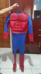Fantasia Homem Aranha Ate 11 Anos