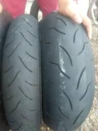 Vendo pneus semi novos de marca Bridgestone