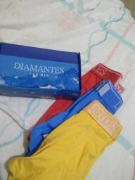 Kit Cueca box Diamantes langerie