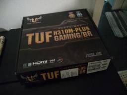 Placa mãe Asus h310m TUF gaming e memória RAM ddr4 hyper x
