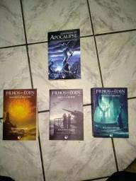 Box A batalha do Apocalipse + Filhos do Éden Volumes 1,2 e 3
