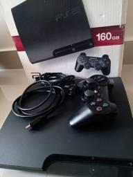 PS3 com MOVE e Jogos