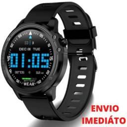 """Relógio Inteligente Smartwatch Marcador Batimentos E Pressão - """"Produtos Novos"""""""