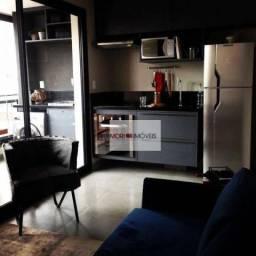 Studio Mobiliado com 1 dormitório para alugar, 33 m² por R$ 4.000/mês - Pinheiros - São Pa