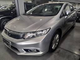 Honda Civic Lxr 2014 Baixo Km - 2014