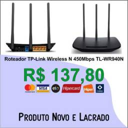 Roteador TP-Link Wireless N 450Mbps TL-WR940N