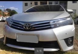Vendo Corolla Prata 2014/2015 - 2014