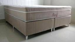 :: Promoçao Cama Box + Colchao Montreal Royale Super King 193x203 confira