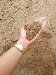 Trabalhamos apenas com areia de rio