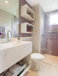 Nicho 02 unidades para banheiro 100% MDF Direto de fabrica
