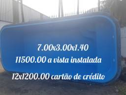 Piscina 7.00x3.00x1.40