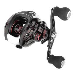 Carretilha Pesca Gugufish Com Freio Magnético / Barato 12 Rolamentos