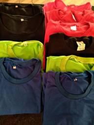 Camisetas lisa algodão