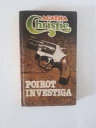 Livro: Poirot investiga - Agatha Christie (usado)