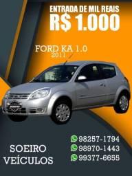 KA TECNO 2011 ENTRADA R$1.000