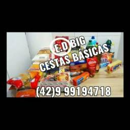 Vendo cesta básica precisando e só chamar !!!