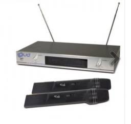 Microfone sem fio Loud LD-6630 Duplo de mão VHF